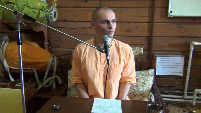 Ананта Шри дас (18/04/15) - Основные философские концепции Бхагавад-гиты - Часть 1