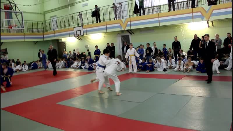 Себик Елисей на областном турнире по дзюдо в Чечерске 24.11.18.