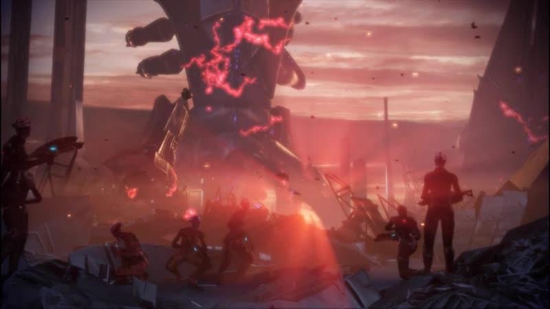 Mass Effect - уничтожение жнецов
