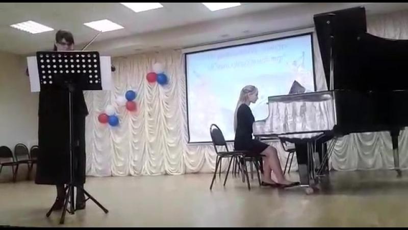 Ефремова А.С., Волоконская Мария - Ф. Зейц Концерт N2 (переложение для альта и фортепиано)