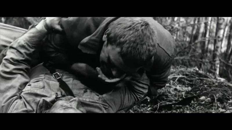 А зори здесь тихие 1972 Рукопашка с десантниками