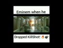 Oh shit, Boy you fucking wit the wrong one. LOL smh ️ easy work @Eminem get the strap lecheminduroi