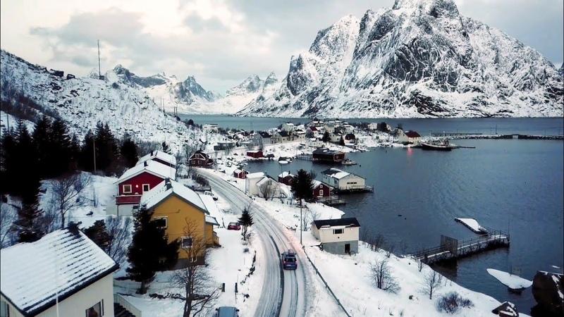Gibt es was schöneres als die Lofoten im Winter? In Love with Norway in Winter. DJI Mavic Pro