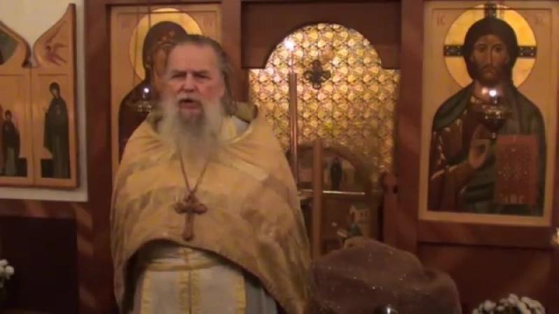 Священник Павел Адельгейм Проповедь в храме свв Жён мироносиц Псков 11 11 2012