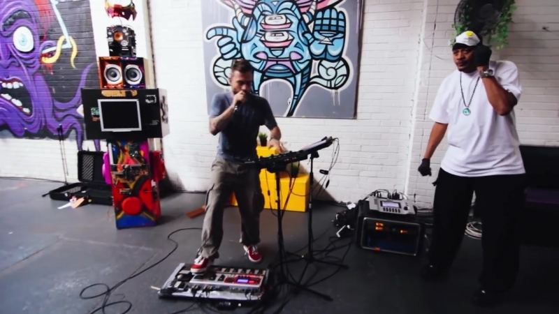 Dub FX 2015 In Another Life feat Chali 2na Live @ Rubix Warehouse in Melbourne shhmusic