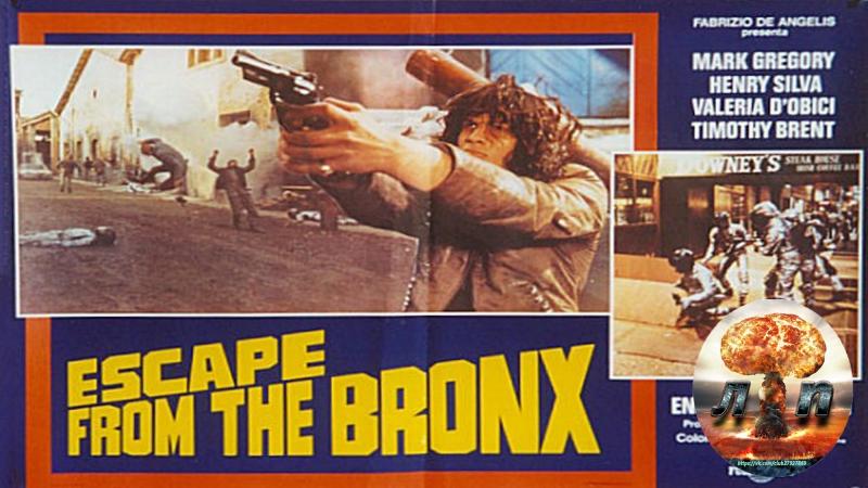☠ Воины Бронкса 2: Побег из Бронкса / Escape from the Bronx / Fuga dal Bronx (1983)