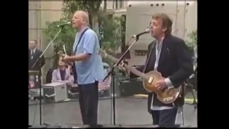 Paul McCartney and David Gilmour - No Other Baby (PETA Concert at Paramount Studios, Hollywood, USA)