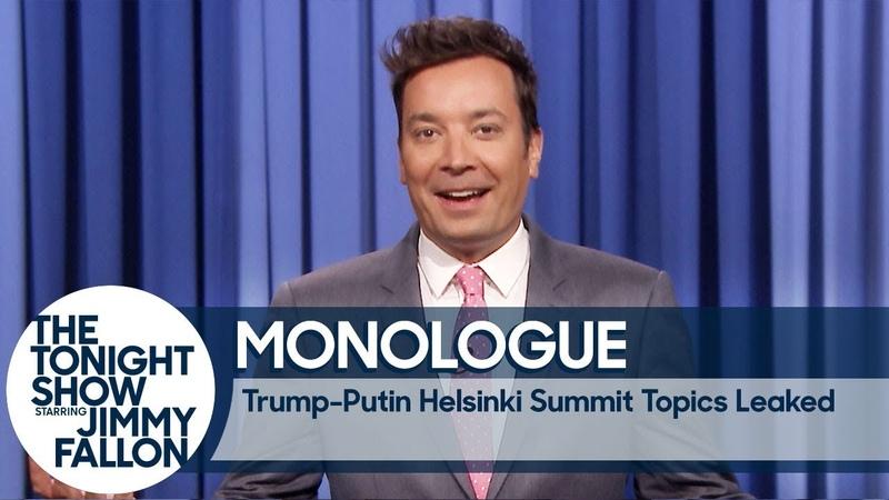 Trump-Putin Helsinki Summit Private Topics Leaked - Monologue
