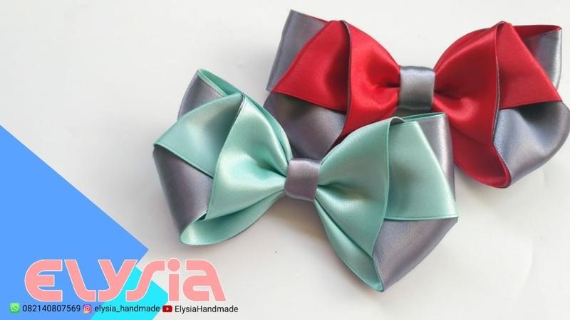 Laço Minnie 🎀 Ribbon Bow 🎀 DIY by Elysia Handmade
