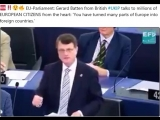 EU-Parliament Gerard Batten from British #UKIP talks to millions of EUROPEAN CITIZENS from the heart 'You have turned many par