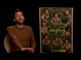 The cast of Camping hates actual camping