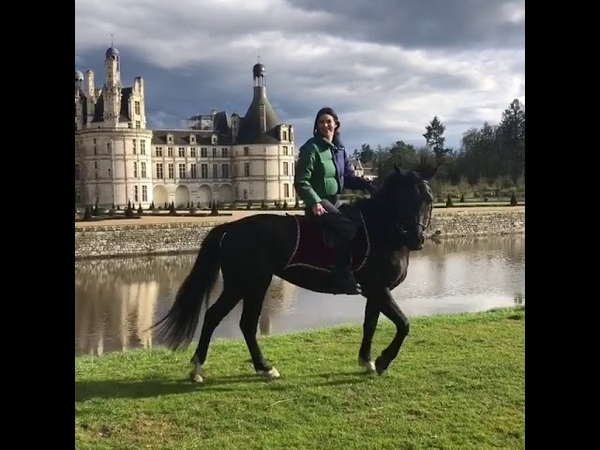 Kendall Jenner Riding a Horse