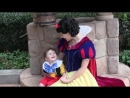 My 2 year old son falls in love with Snow White at Walt Disney World
