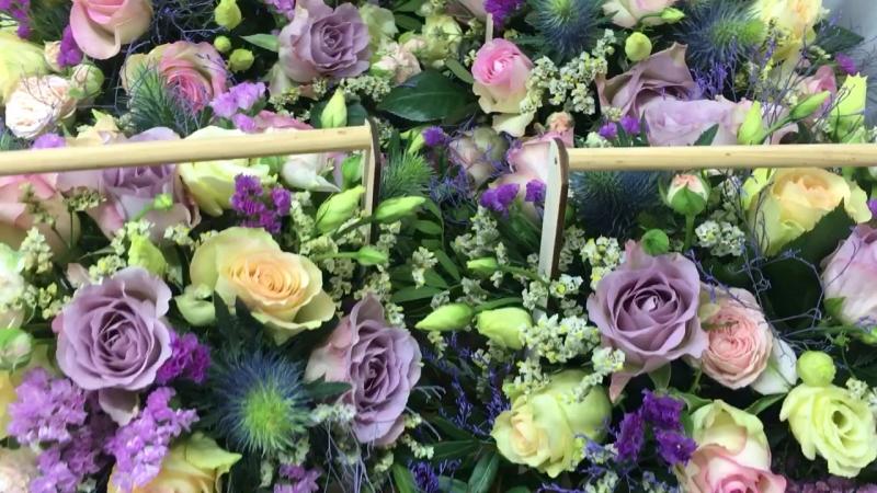Цветочные ящики к свадьбе