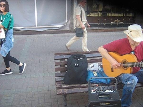 Old arbat street 10 08 2018 гитара gitar play