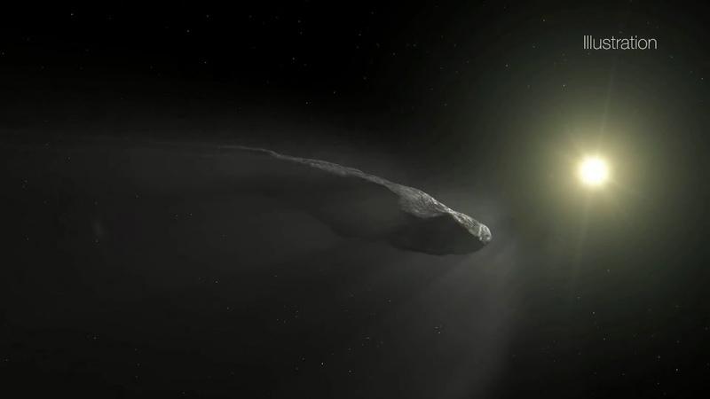 ʻОумуамуа жұлдызаралық астероид әлде комета ма?