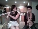Pumped Up Kicks Flute Clarinet Duet