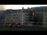 В Алматы горит жилой многоквартирный дом