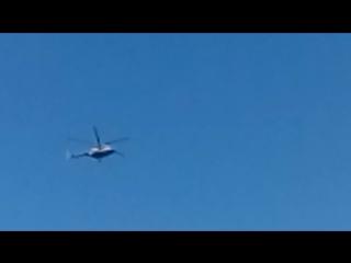 Вертолёт в Любимовке