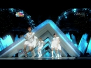 Boys Generation (Taecyeon, Wooyoung, Taemin, Key, MC Mong) - Tell Me Your Wish (Genie) [remake SNSD] (090809 on Inkigayo)