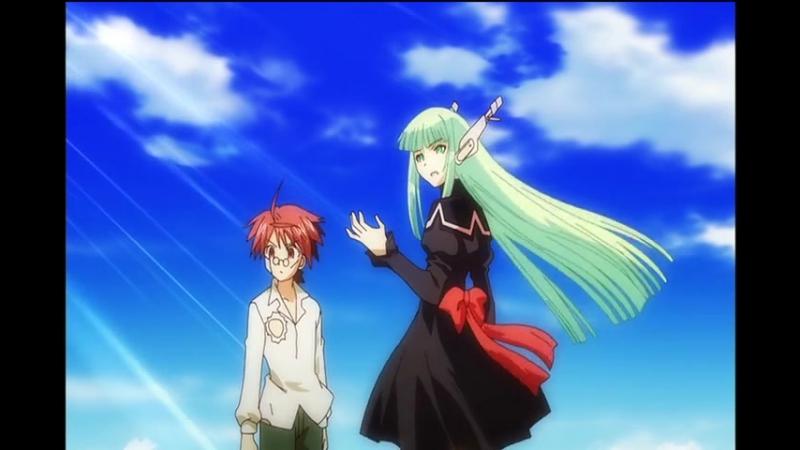 Mahou Sensei Negima Mou Hitotsu no Sekai Волшебный учитель Нэгима OVA 4 2 серия
