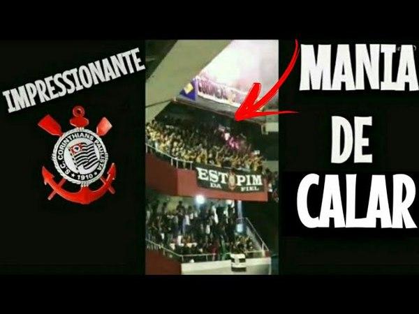 Torcedor do independiente grava vídeo da Torcida do CORINTHIANS calando Avellaneda   Libertadores