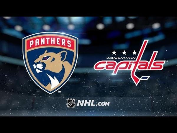 Florida Panthers vs Washington Capitals Oct 19 2018 Game Highlights NHL 18 19 Обзор матча