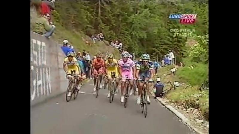 Giro dItalia 2007 stage 17 30 May Lienz to Monte Zoncolan ˄