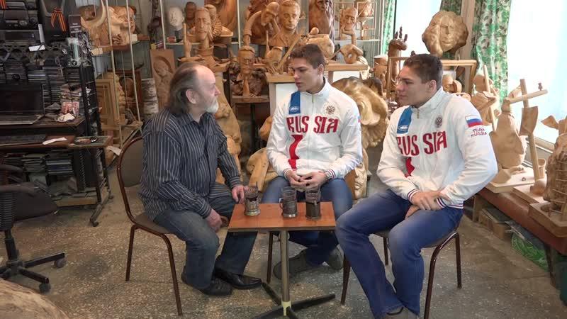 SportUs.pro В гостях у мастера. Гиревики Иван и Дмитрий Черкашины (февраль 2016)