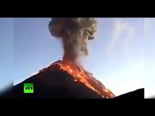 В ловушке лавового потока: от извержения вулкана Фуэго в Гватемале погибли десятки человек