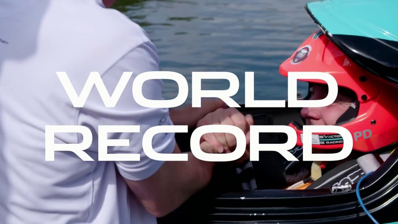 Jaguar Vector Racing | Electric Powerboat World Record