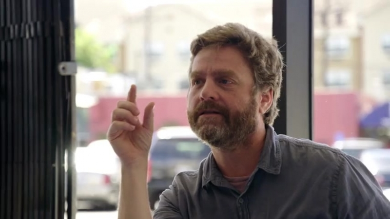 Comedians In Cars Getting Coffee Zach Galifianakis