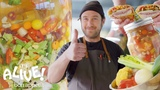 Brad Makes Giardiniera (Italian Pickle Relish) It's Alive Bon App