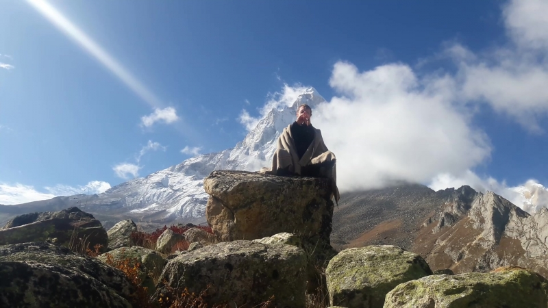 Медитация в Гималаях