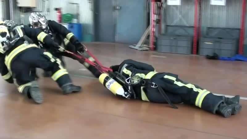 Использование страховочной /эвакуационной петли