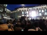 Жулики и воры 5 минут на сборы 28.01.18 СПб у Галереи вечер #забастовка #ЭтоНеВыборы