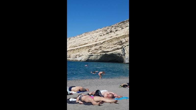 Eparchiaki Odos Gortinas - Matalon, Matala остров хиппи
