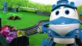 Томас и роботы поезда - Дюк мешает играть в игрушки - Видео для детей