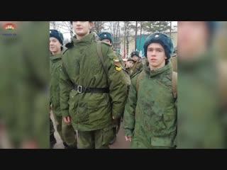 Кадеты из Новолисинской школы-интерната посетили воинскую часть в п.Каменка