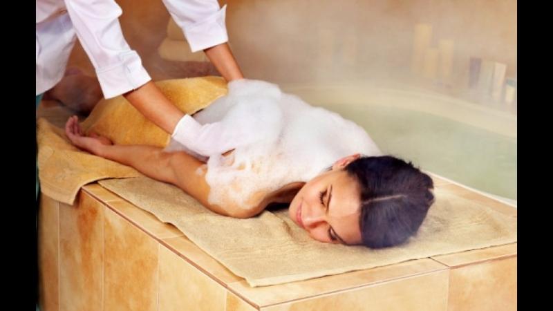 турецкий массаж всего тела