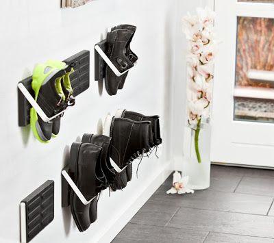 Идеи для хранения обуви