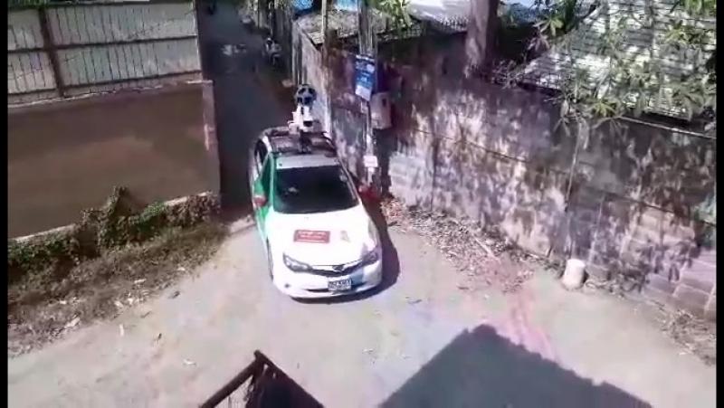 Автомобиль Google Maps Street View в Паттайе