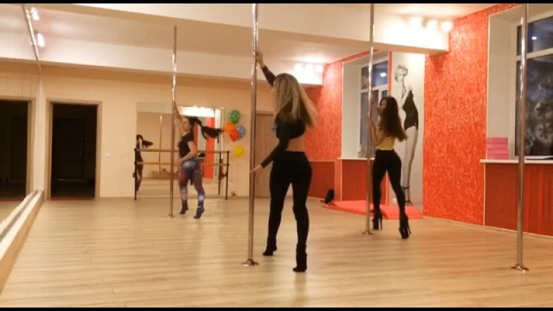 Pole dance studio