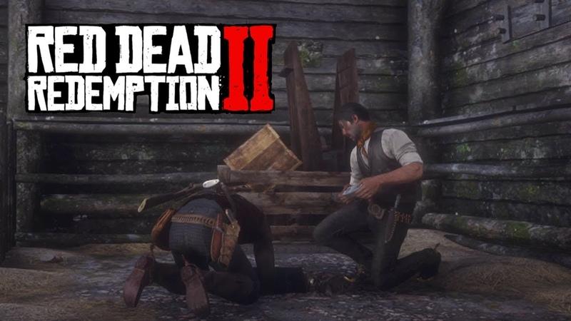 ОЧЕРЕДНОЙ ГРАБЕЖ ► Прохождение Red Dead Redemption 2 22
