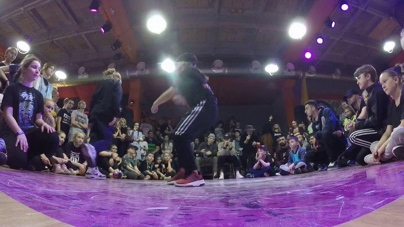 Tata vs Лиана Kids 1х1 Hip Hop deFunkyFunky
