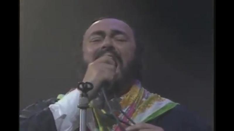 Caruso (Live). Luciano Pavarotti Lucio Dalla (HQ)