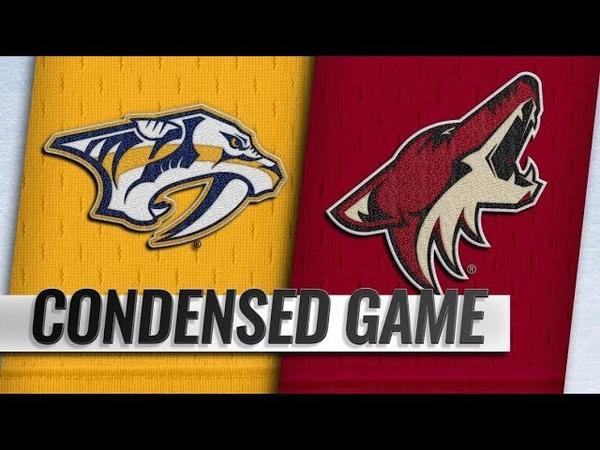 Nashville Predators vs Arizona Coyotes | Nov.15, 2018 | Game Highlights | NHL 2018/19 | Обзор матча