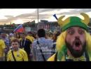 Brazilskiy fanat o Rossii 17 6 2018 Rostov na