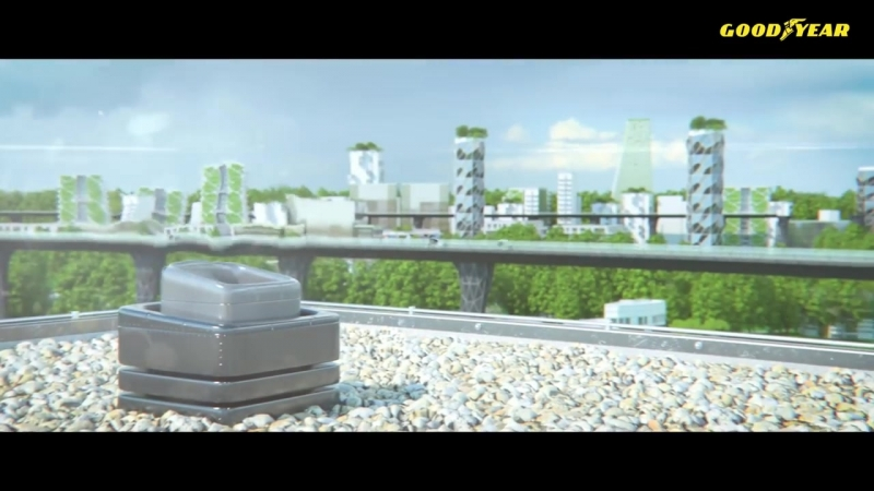 Goodyear Oxygene a Concept Tire Designed to Support Cleaner and More Convenient Urban Mobility