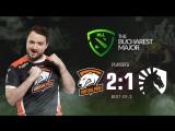Virtus.pro 2:1 Team Liquid, bo3. The Bucharest Major 2018